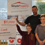 Locals celebrate completion of first investment property